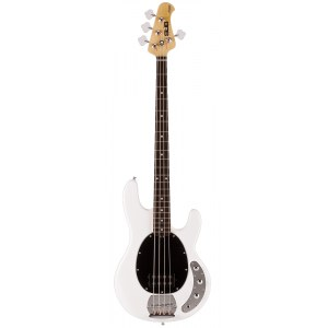 STERLING by Music Man SUB Ray 4 RW WH Stingray 4-saitiger E-Bass inkl. Gigbag, weiss