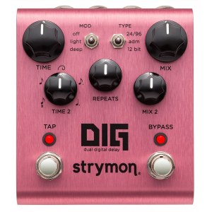 STRYMON Dig Dual Digital Delay Effektpedal