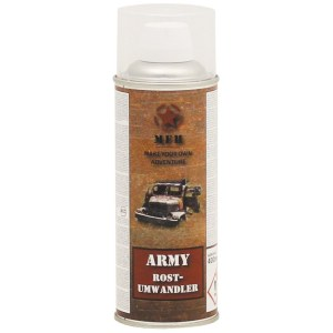 SURVIVAL Rostumwandlerspray Army 400ml Rostumwandler und Epoxy-Grundierung