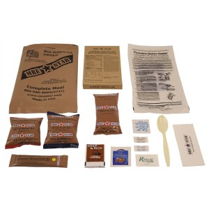 SURVIVAL MRE Star Ready-to-Eat 5 Cheese Tortellini Komplettes Menü