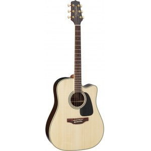 TAKAMINE GD51CE-NAT Dreadnought Elektro-Akustik-Gitarre inkl. Bag, natural