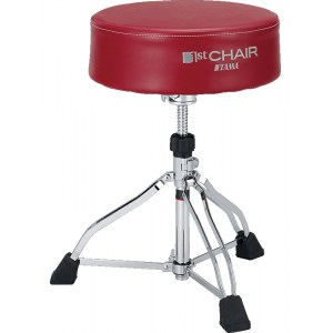 TAMA HT830R 1st Chair Round Rider XL Throne Drumhocker, rot