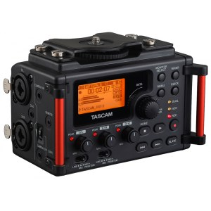 TASCAM DR-60 D MKII Linear-PCM-Stereo Digitalrecorder