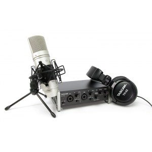 TASCAM US-2x2TP Trackpack 2x2 USB Recordingbundle