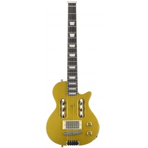 TRAVELER EG-1 Custom V2 Gold Top Elektro Reisegitarre inkl. Bag