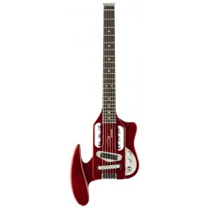 TRAVELER Speedster CAR Reise E-Gitarre inkl. Gigbag, candy apple red