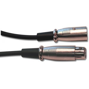 T&M Cable MC-06 (SMC6) Mikrofonkabel XLRm-XLRf 6m