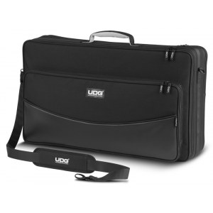 UDG U-7002 BL Urbanite FlightBag Large Black Innovative Tasche für mobile DJs und Producer
