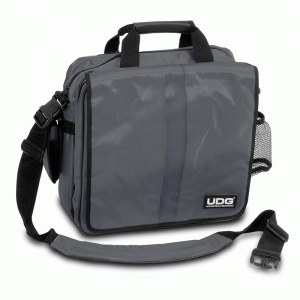 UDG U-9448 Courier Bag Deluxe 40 LP Plattentasche, grau/orange