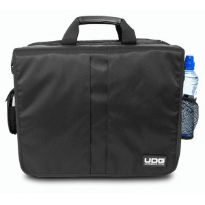 UDG U-9470 BL/OR Courier Bag Deluxe 40 LP Plattentasche, schwarz/orange