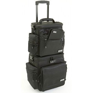UDG U-9679 BL Sling Bag Trolley Set 110 LP Plattentrolley, black