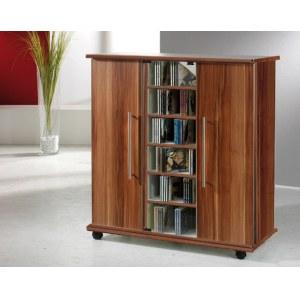 cd schrank vcm luxor sideboard cddvd schrank nussbaum with cd schrank finest latest large size. Black Bedroom Furniture Sets. Home Design Ideas