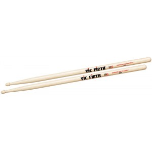 VIC FIRTH American Classic Wood Tip 55A (Paar) American Hickory Drumsticks