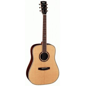 CORT Earth 1200 NAT Dreadnought Akustik-Gitarre inkl. Koffer, natural