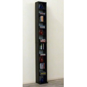 VCM 24001 Bigol DVD/CD-Regal Rack, schwarz