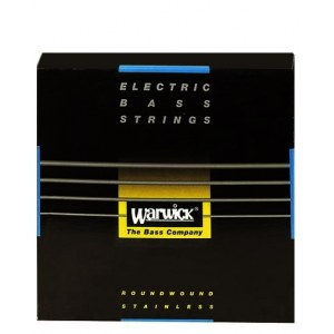 WARWICK Black Strings 5 Bass Medium 045-135 Stainless Steel Roundwound. Saiten für E-Bass