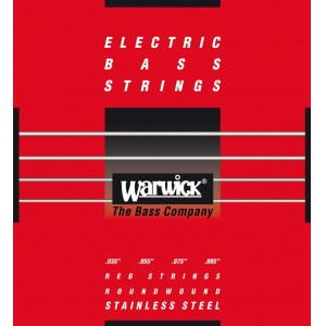 WARWICK Red Strings 4 Bass Light 035-095 Stainless Steel Roundwound. Saiten für E-Bass
