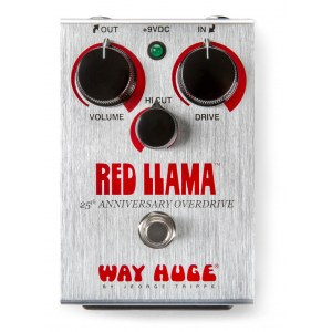 WAY HUGE 206 Red Llama 25th Anniversary Overdrive Effektpedal
