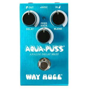 WAY HUGE 71 Smalls Aqua-Puss Analog Delay MkIII Effektpedal