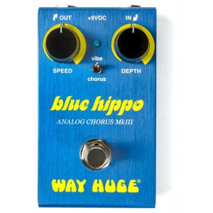 WAY HUGE 61 Smalls Blue Hippo Analog Chorus MkIII Effektpedal