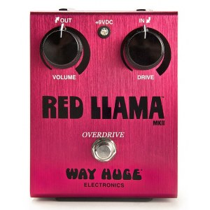 WAY HUGE 203 Red Llama Overdrive Effektpedal