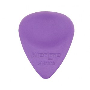 WEDGIE Clear XL Plektrum 0,73mm, purpur Die Zubehörsensation aus Californien/USA!