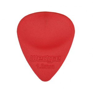 WEDGIE Clear XL Plektrum 1,00mm, rot Die Zubehörsensation aus Californien/USA!