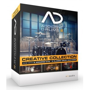 XLN-AUDIO Addictive Drums 2 Creative Bundle Virtuelles Drum Production Studio