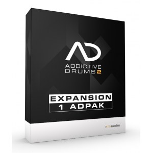 XLN-AUDIO Addictive Drums 2 - 1 ADPak Software-Instrument