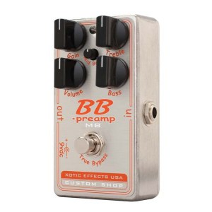 XOTIC BBP-MB Custom Shop Booster/Verzerrer Effektpedal