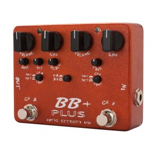 XOTIC BB Plus Boost/Overdrive Effektpedal