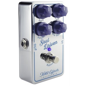 XOTIC Soul Driven Boost/Overdrive Effektpedal