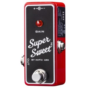 XOTIC SSB Super Sweet Booster Effektpedal