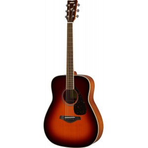 YAMAHA FG820 BS Dreadnought Akustik-Gitarre inkl. Gigbag, brown sunburst