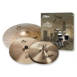 ZILDJIAN A City Pack Set 12H/14Cr/18R Beckenset