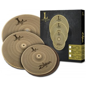 ZILDJIAN L80 Low Volume 468 Box Set 14-16-18 Beckenset