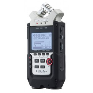 ZOOM H4n Pro Handheld Digital-Recorder inkl. SD-Karte