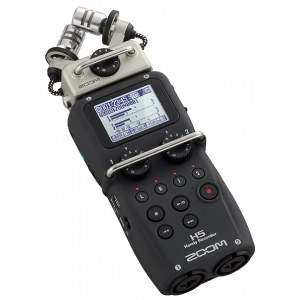 ZOOM H5 Handheld Digital-Recorder inkl. SD-Karte