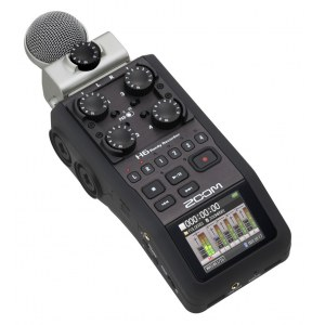 ZOOM H6 Handheld Digital-Recorder