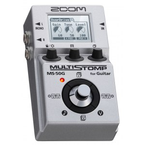 ZOOM MS-50 G MultiStomp Pedal Gitarren-Effektpedal