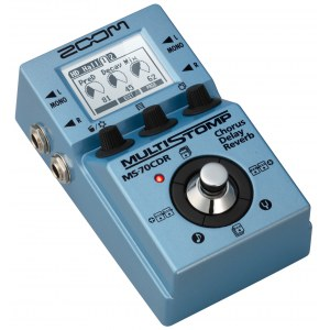 ZOOM MS-70 CDR MultiStomp Pedal Gitarren-Effektpedal
