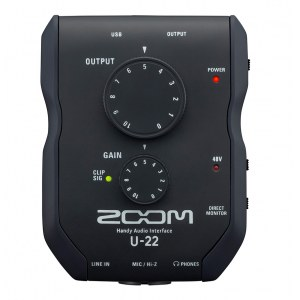 ZOOM U-22 USB Handy Audio-Interface