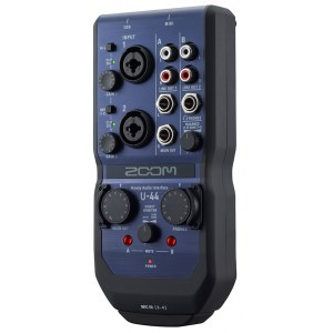 ZOOM U-44 USB Handy Audio-Interface