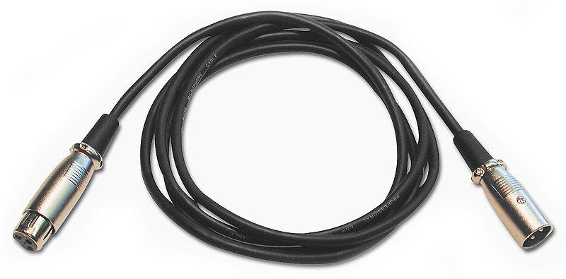 T/&M Cable SRC-203 Insertkabel St KLm-XLRm//XLRf 3m
