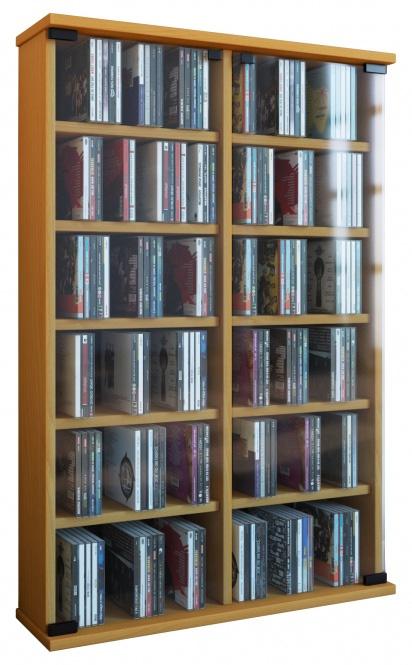 vcm 50403 roma cd dvd m bel grundmodul buche deejay veejay. Black Bedroom Furniture Sets. Home Design Ideas