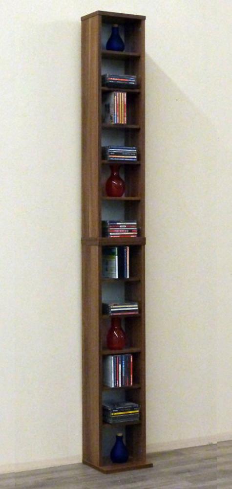 vcm 24002 bigol dvd cd regal rack nussbaum m bel. Black Bedroom Furniture Sets. Home Design Ideas