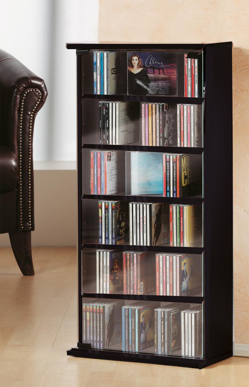 vcm 25201 vetro cd dvd m bel grundmodul schwarz m bel. Black Bedroom Furniture Sets. Home Design Ideas