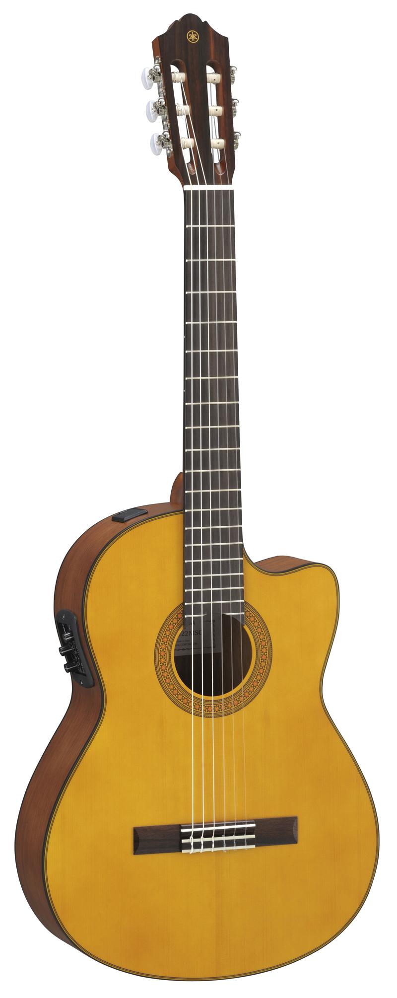 yamaha cgx122 msc elektro akustik gitarre 4 4 natur. Black Bedroom Furniture Sets. Home Design Ideas