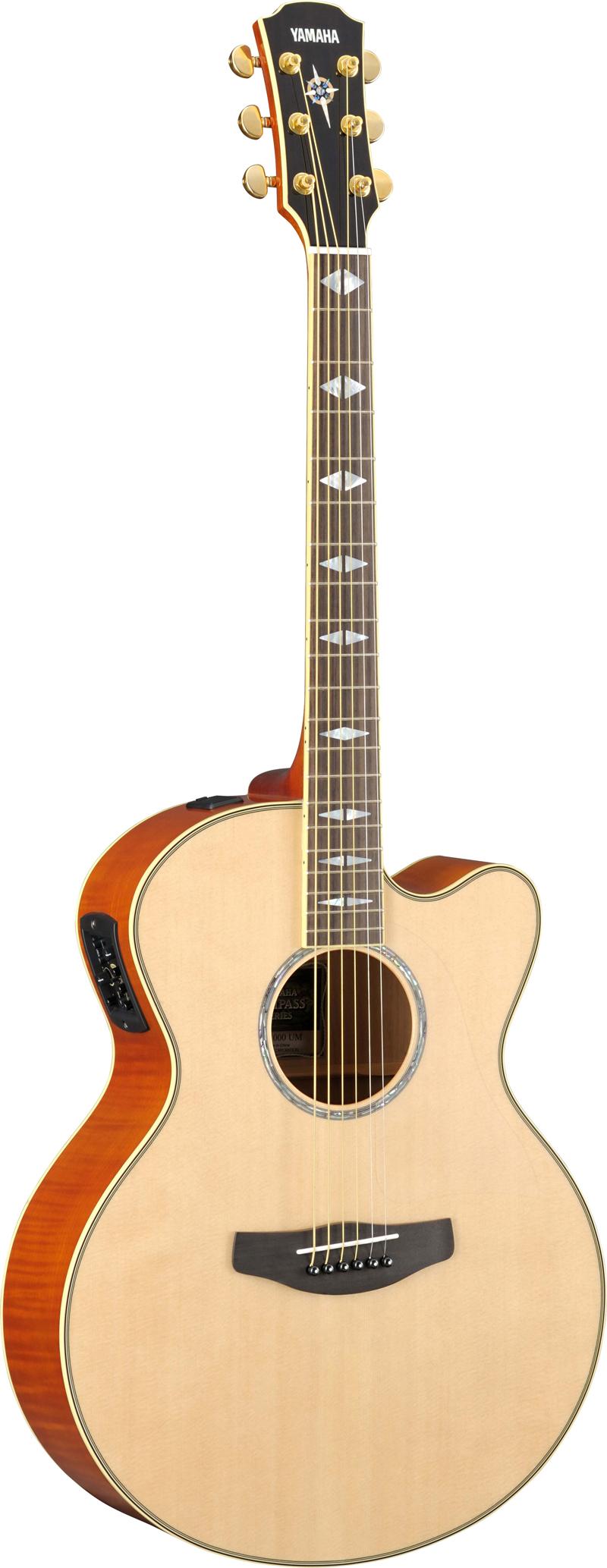 yamaha cpx1000 nt elektro akustik gitarre natur gitarre. Black Bedroom Furniture Sets. Home Design Ideas