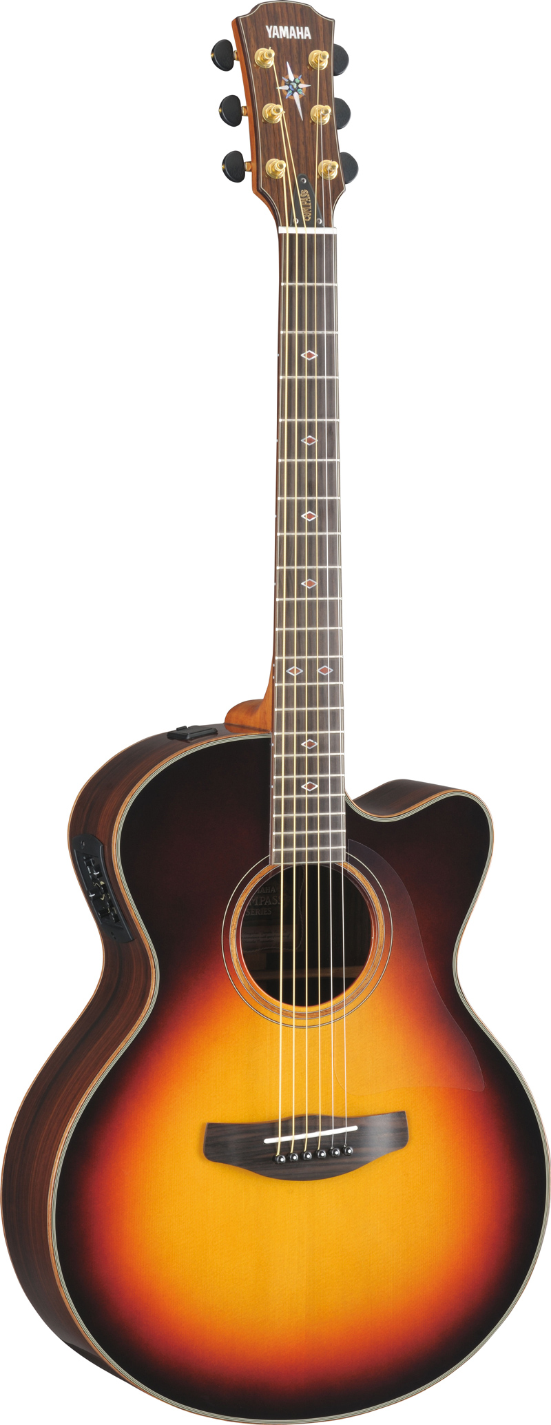 yamaha cpx1200ii vsb compass elektro akustik gitarre bag. Black Bedroom Furniture Sets. Home Design Ideas